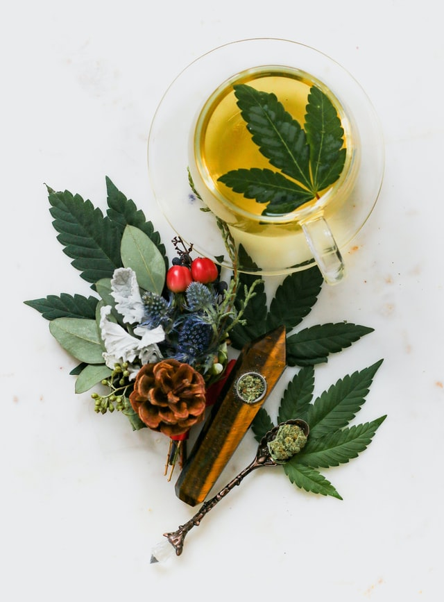 CBD drink for pain.